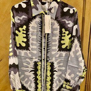 Averado Bessi Pucci style button down Silk Blouse